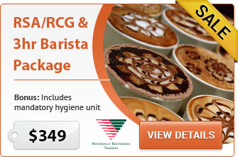 RSA RCG & 3Hr Barista Package