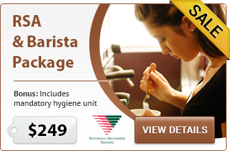 RSA & Barista Package