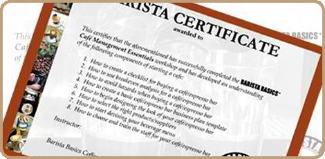Barista Basics Mk1 - 3hrs $120.00